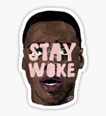 STAY WOKE Sticker