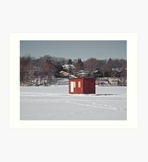 Winter Landing Art Print