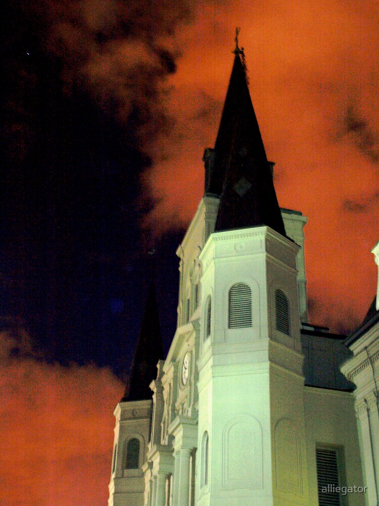 St. Louis Cathedral by alliegator