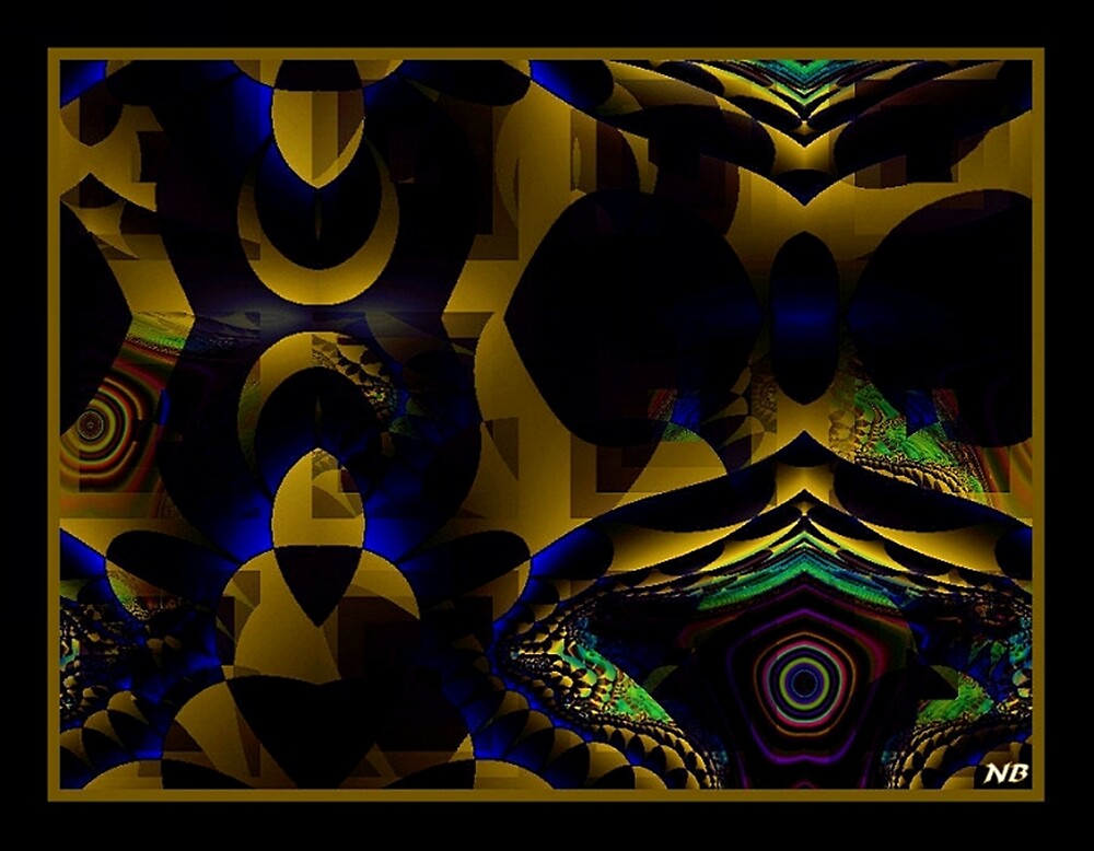 Abstract Glow by angelheart