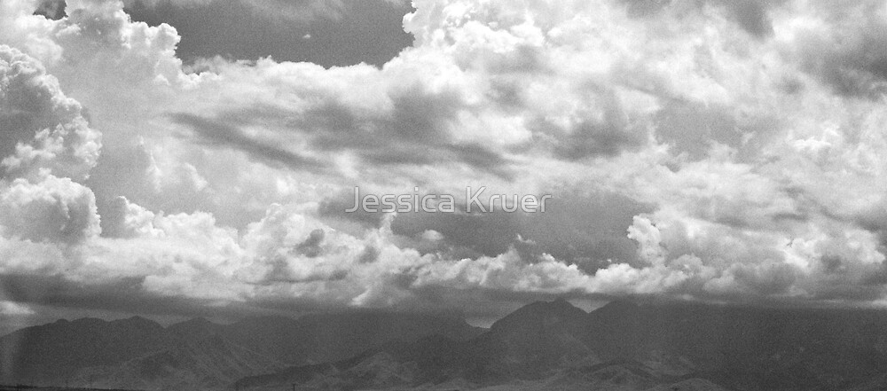 Clouded Mountains by Jessica Kruer
