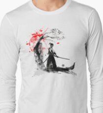 Japanese Samurai Long Sleeve T-Shirt