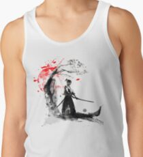 Camiseta de tirantes Samurai japonés