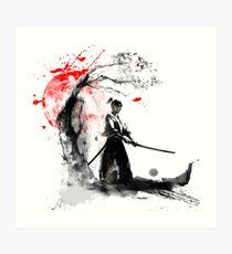 Japanese Samurai Art Print