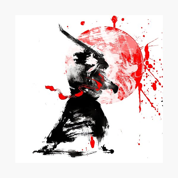 Japanese Samurai Photographic Print