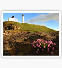 Girdle Ness Lighthouse Aberdeen Scotland. Sticker