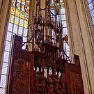 Altar Of The Holy Blood - St. Jakob's Church by Lucinda Walter