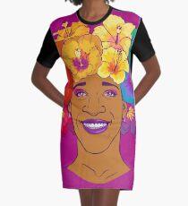 Marsha Johnson - Hero and Icon Graphic T-Shirt Dress