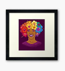 Marsha Johnson - Hero and Icon Framed Print