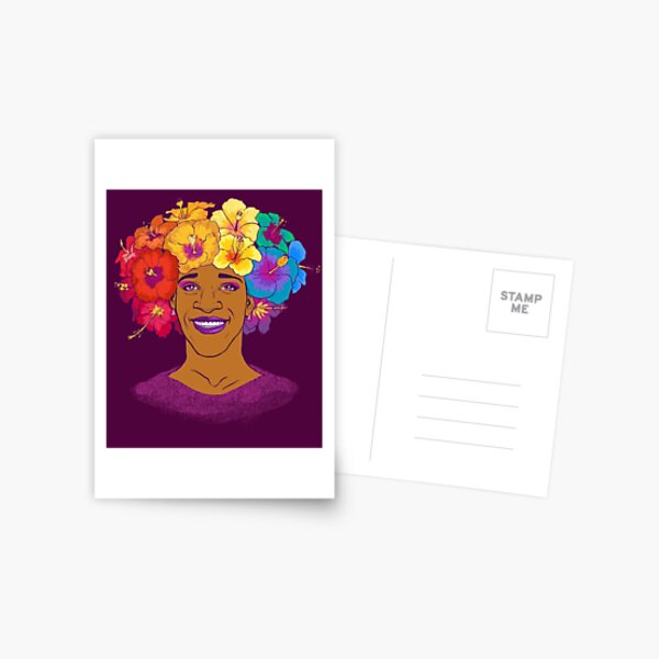 Marsha Johnson - Hero and Icon Postcard
