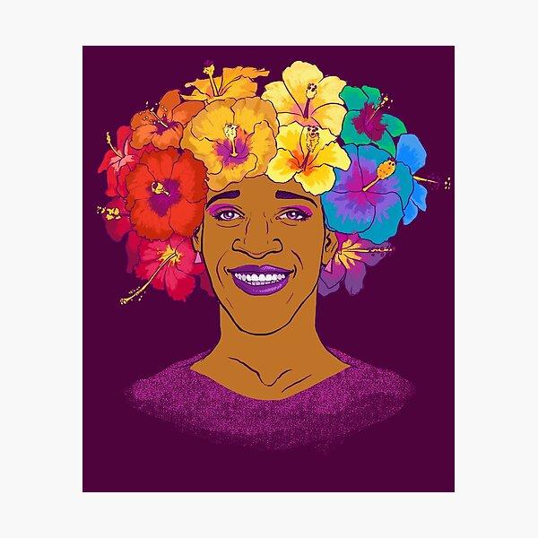 Marsha Johnson - Hero and Icon Photographic Print
