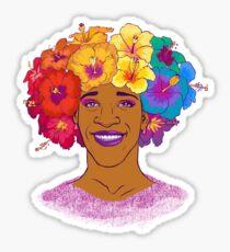 Marsha Johnson - Hero and Icon Sticker