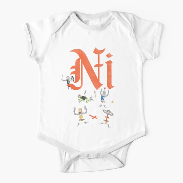 Ni! Short Sleeve Baby One-Piece
