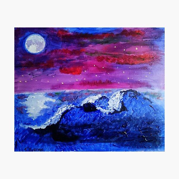 Night landscape Photographic Print