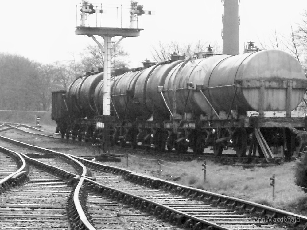 railway by Ann Macdonald