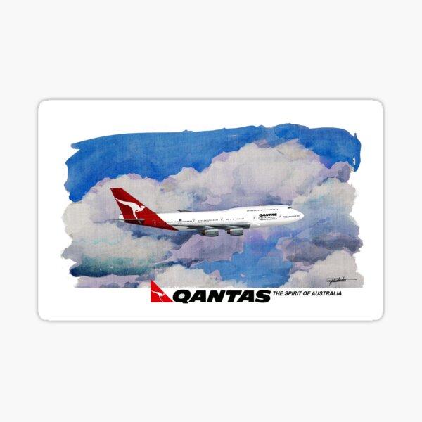 QANTAS Jet Sticker