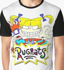 The Rugrats, Tommy, Chuckie and Angelica Graphic T-Shirt