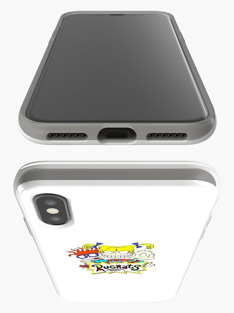 Alternative Ansicht von Die Rugrats, Tommy, Chuckie und Angelica iPhone-Hülle & Cover
