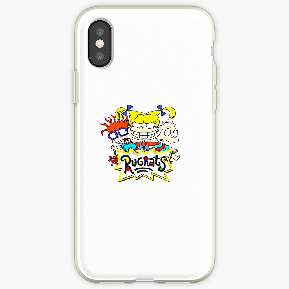 Die Rugrats, Tommy, Chuckie und Angelica iPhone-Hülle & Cover