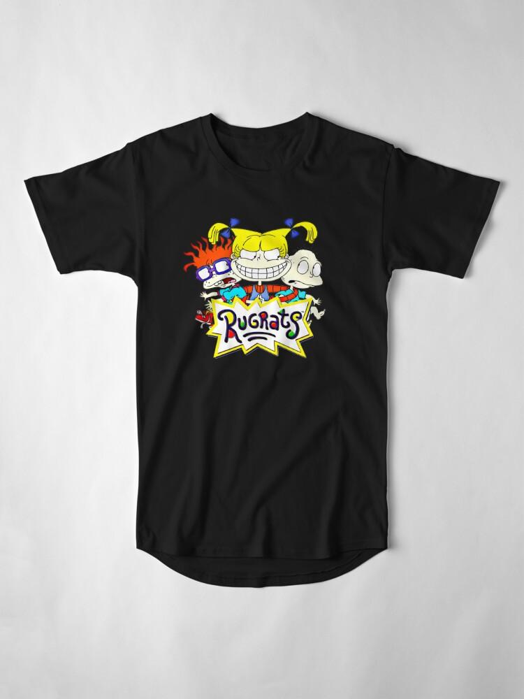Alternative Ansicht von Die Rugrats, Tommy, Chuckie und Angelica Longshirt