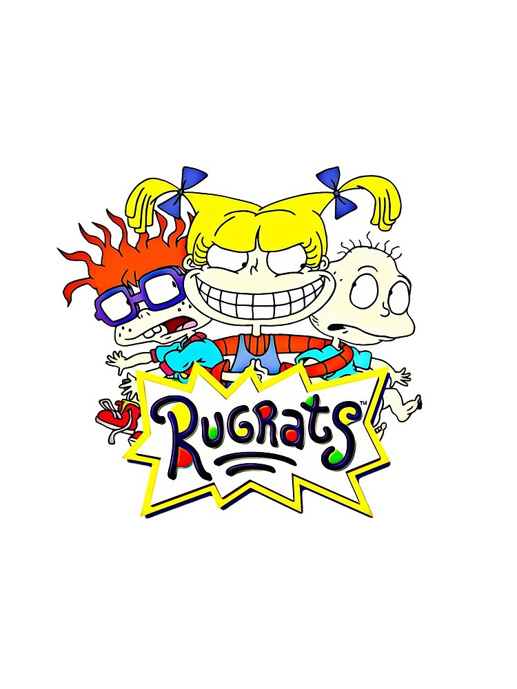 Die Rugrats, Tommy, Chuckie und Angelica von RainbowRetro