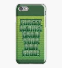 Forget Lawns iPhone Case/Skin