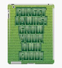 Forget Lawns iPad Case/Skin