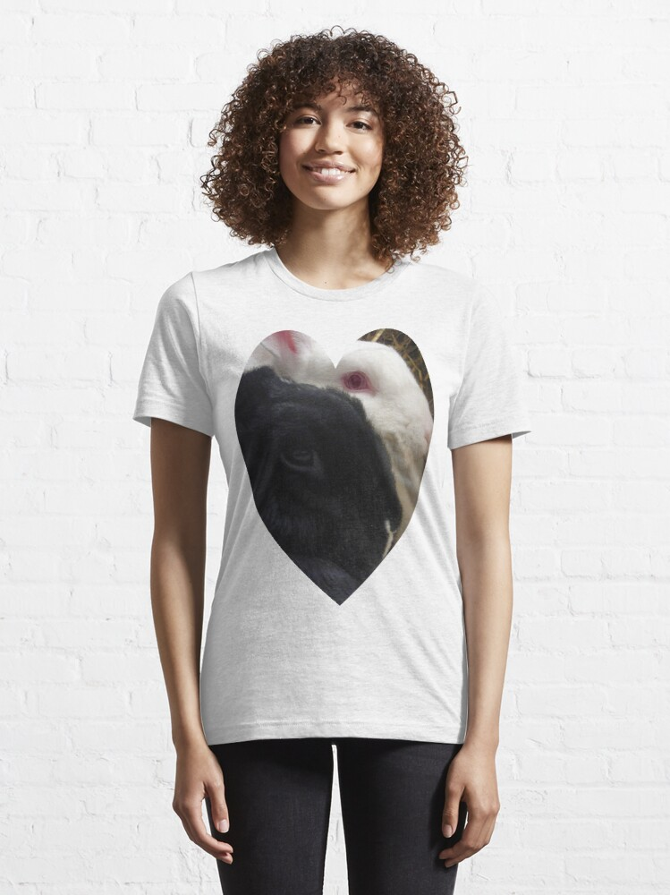 Alternate view of Bunny Love Essential T-Shirt