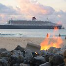 Queen Mary 2 by Michael Morris