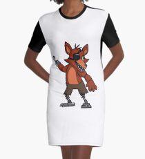 Adventure Foxy Graphic T-Shirt Dress