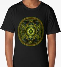 Metatron's Magick Wheel ~ Sacred Geometry Long T-Shirt