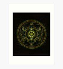 Metatron's Magick Wheel ~ Sacred Geometry Art Print