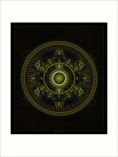 Metatron's Magick Wheel ~ Sacred Geometry by Leah McNeir