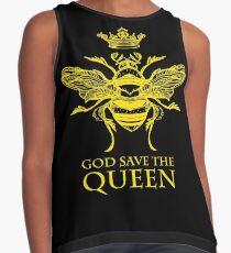 Gott schütze die Königin 'Biene' Ärmelloses Top