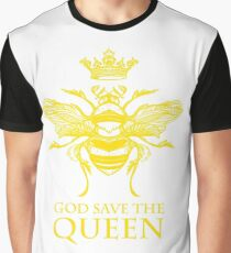 God Save the Queen 'Bee' Graphic T-Shirt
