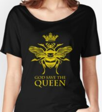 God Save the Queen 'Bee' Women's Relaxed Fit T-Shirt