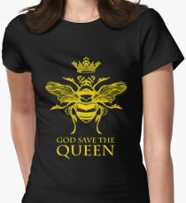 God Save the Queen 'Bee' Women's Fitted T-Shirt