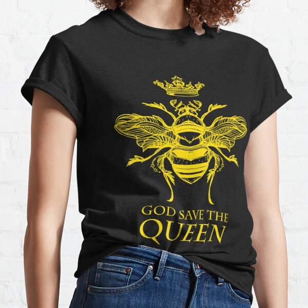 God Save the Queen 'Bee' Classic T-Shirt