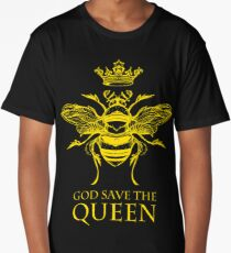 God Save the Queen 'Bee' Long T-Shirt