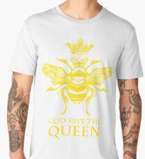 God Save the Queen 'Bee' Men's Premium T-Shirt