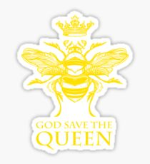 God Save the Queen 'Bee' Sticker