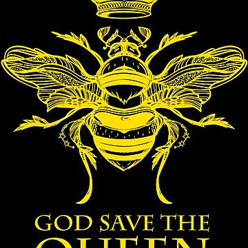 God Save the Queen 'Bee' by MichaelGoins