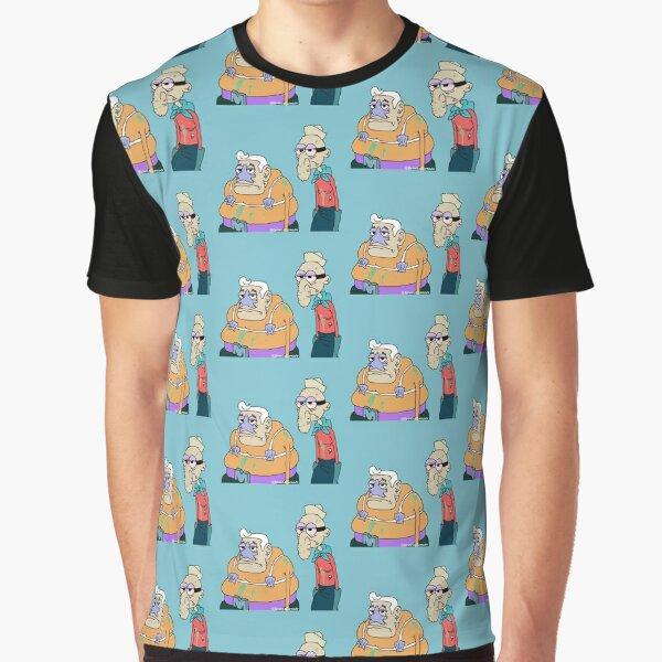 Mermaid Man and Barnacle Boy Graphic T-Shirt