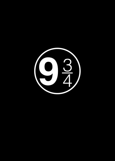 9 3/4 by Graphy Official
