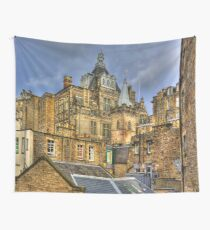 Hidden in the Cowgate Wall Tapestry