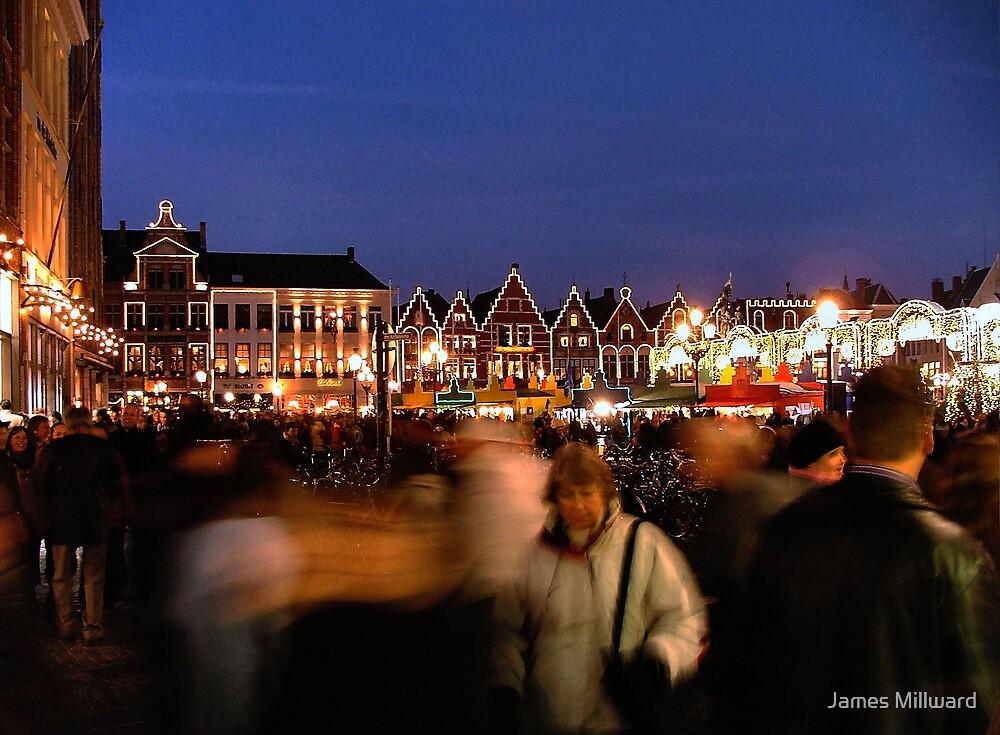 Brugge Christmas 2005 by James Millward