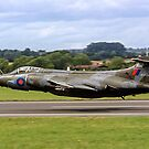 Buccaneer S.2B XV867 208 Sqn, lowdown at Fairford by Colin Smedley