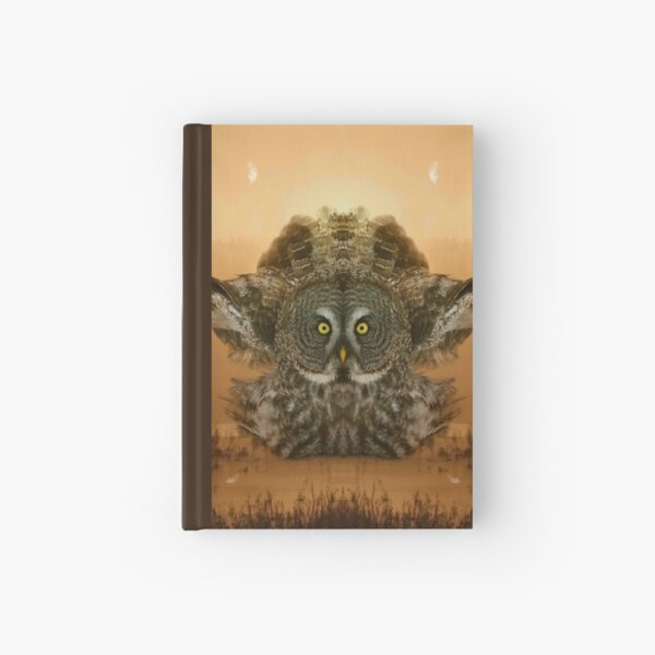 The greatest great gray of them all Hardcover Journal