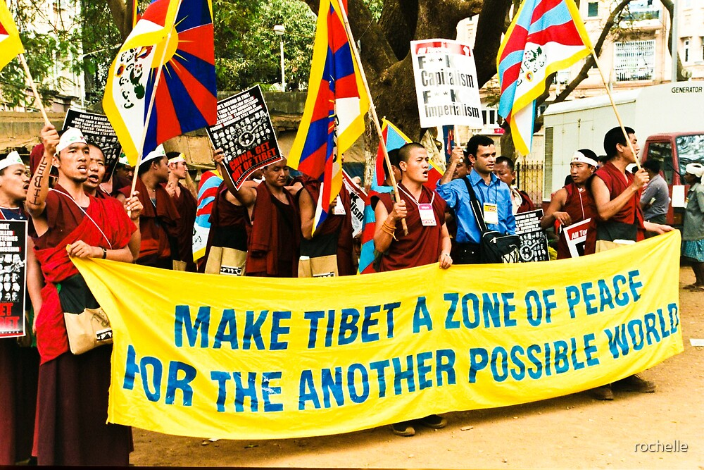 Tibet a zone of peace by rochelle