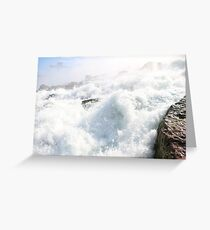 The Power Of Water Greeting Card
